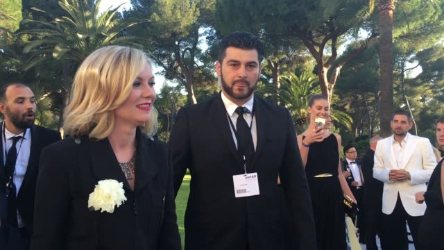Kirsten Dunst at amfAR's 23rd Cinema Against AIDS Gala Arrivals at Hotel du CapEdenRoc on May 19 2016 in Cap d'Antibes France