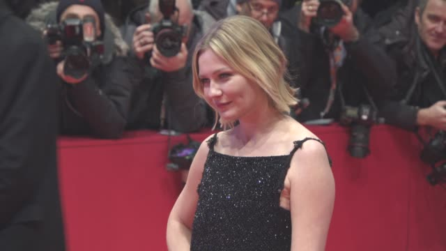 Kirsten Dunst at 'Midnight Special' Red Carpet 66th Berlin International Film Festival at Berlinale Palast on February 12 2016 in Berlin Germany