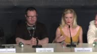 Kirsten Dunst on how she was drawn to the project at the Melancholia Press Conference 64th Cannes Film Festival at Cannes