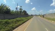 Kitwe Zambia Driving - Euclid Rd