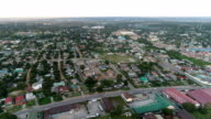 Kitwe, Zambia - Tracking forward over a mixed Neighborhood
