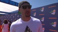 INTERVIEW Klay Thompson on how much he's looking forward to tonight's show celebrating his NBA finals victory shooting hoops at the event and any...