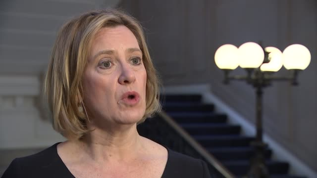Amber Rudd interview on tackling knife crime ENGLAND London Millbank INT Amber Rudd MP interview re knife crime SOT