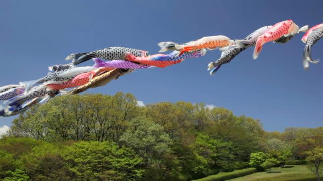 koinobori in Japan