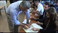 Kosovo voted Sunday in snap polls seen as a key test for the countrys EU ambitions and for Prime Minister Hashim Thaci an ex guerilla chief who has...