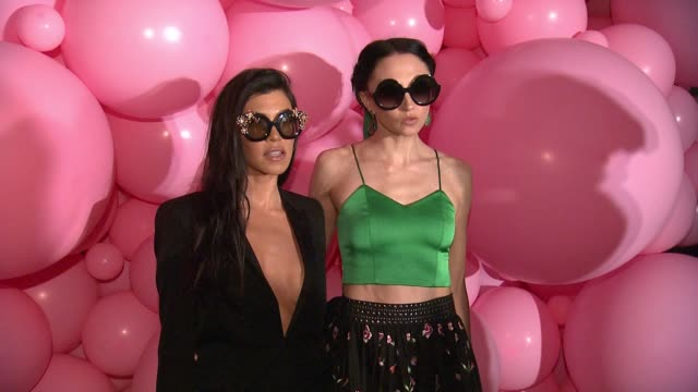 "Kourtney Kardashian Stacey Bendet at Alice Olivia by Stacey Bendet ""Eyewear is Art"" Launch in Los Angeles CA"
