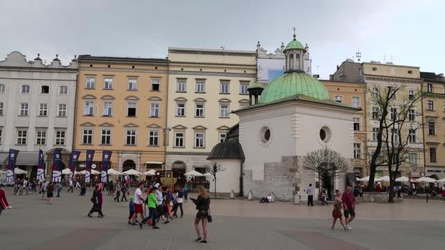 Krakow, Market Square, the Church of Saint Adalbert