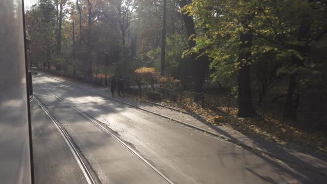 Krakow tram point of view