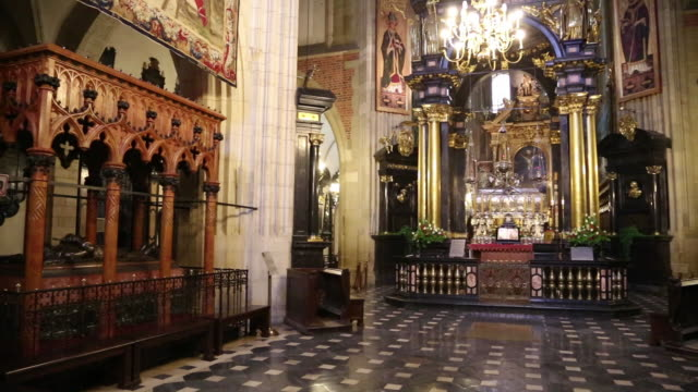Krakow, Wawel Cathedral, Tombs of the Polish Royal Kings, and the Mausoleum of Saint Stanislaus
