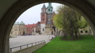 Krakow, Wawel Hill, general view of the Wawel Cathedral