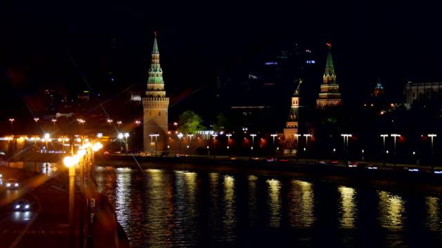 Kremlin and the Kremlin embankment. Moscow.