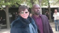 Kris Jenner Corey Gamble Carine Roitfeld and more arriving at the Elie Saab Spring Summer 2016 Fashion Show in Paris Saturday 3rd October 2015 Paris...