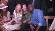Kris Jenner Corey Gamble Dee Hilfiger Doutzen Kroes Anna Wintour and more at the Tommy Hilfiger Ready to Wear Fashion Show Spring Summer 2017 in New...