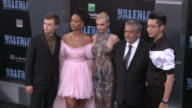 Kris Wu Dane DeHaan Luc Besson Cara Delevingne and Rihanna at the 'Valerian and the City of a Thousand Planets' World Premiere at TCL Chinese Theatre...