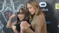 Kristanna Loken Cynthia Rothrock at the 2017 Artemis Women In Action Film Festival Opening Night Gala on April 20 2017 in Beverly Hills California