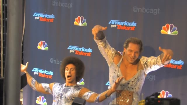 KriStef Brothers arrive to America's Got Talent at Celebrity Sightings in New York KriStef Brothers arrive to America's Got Talent on July 24 2013 in...