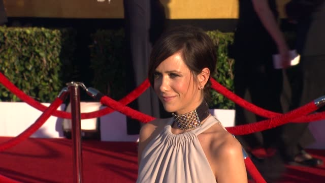 Kristen Wiig at 18th Annual Screen Actors Guild Awards Arrivals on 1/29/2012 in Los Angeles CA