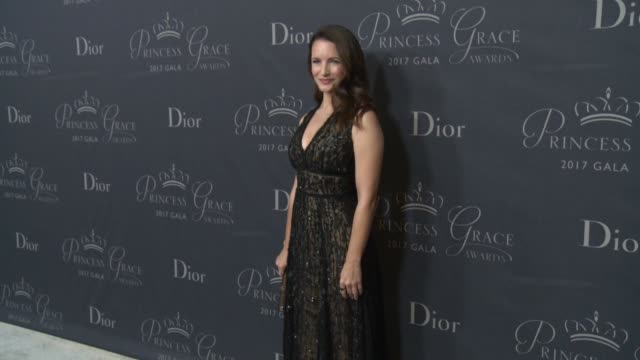 Kristin Davis at 2017 Princess Grace Awards Gala With Presenting Sponsor Christian Dior Couture at The Beverly Hilton Hotel on October 25 2017 in...