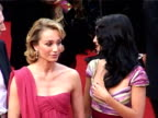 Kristin Scott Thomas and Penelope Cruz at the 2005 Cannes Film Festival Closing Ceremony and 'Chromophobia' Screening at Cannes