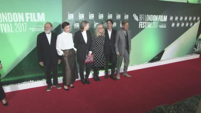 Kristin Scott Thomas Cillian Murphy Timothy Spall Cherry Jones Sally Potter Bruno Ganz at 'The Party' UK Premiere 61st BFI London Film Festival at...
