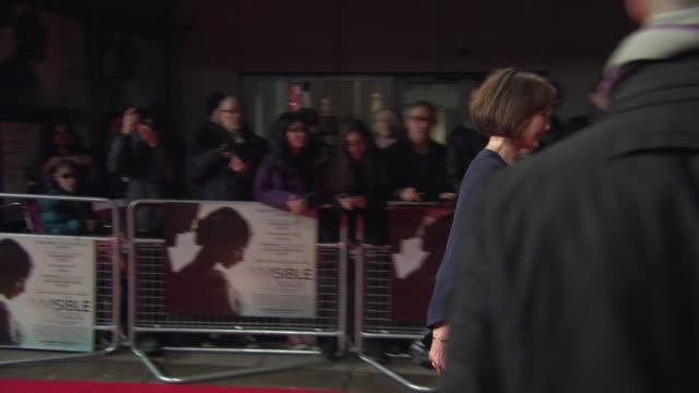 BROLL Kristin Scott Thomas Joanna Scanlan Alan Rickman at 'The Invisible Woman' UK film premiere at ODEON Kensington on January 27 2014 in London...