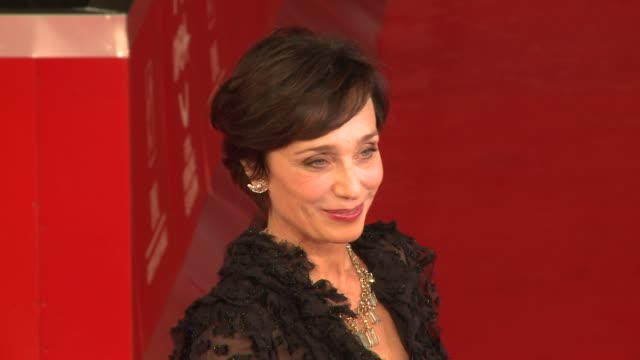 Kristin Scott Thomas The Woman In The Fifth and Grazia E Furore Premiere 6th International Rome Film Festival on October 31 2011 in Rome Italy
