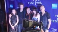 Kristina Aberg Alexander Skarsgard Tarik Saleh Juliette Lewis and Krister Linder at the Premiere Of 'Metropia' 9th Annual Tribeca Film Fest at New...