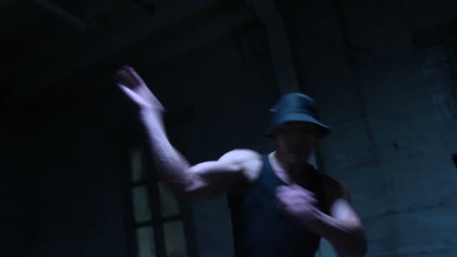 Krumping Dancer Multi-Clip - HH Slow Motion