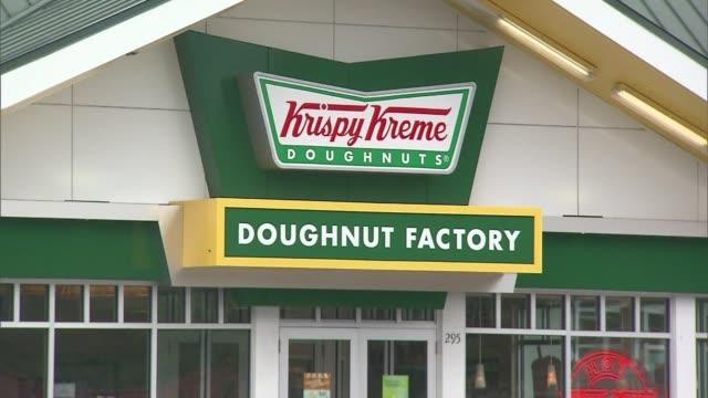 Exterior of Krispy Kreme Doughnuts establishment