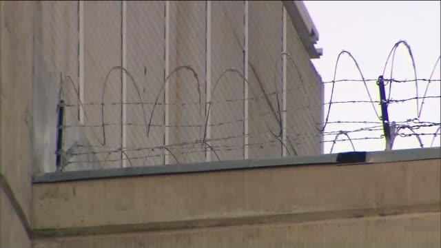 Exterior of Men's Central Jail in Santa Ana