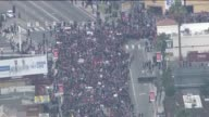 Thousands March From Hollywood to Turkish Consulate on Anniversary of 1915 Armenian Genocide on April 24 2015