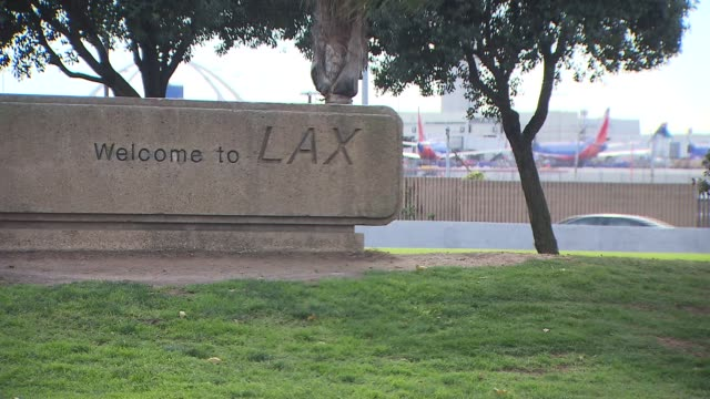 Welcome To LAX Sign