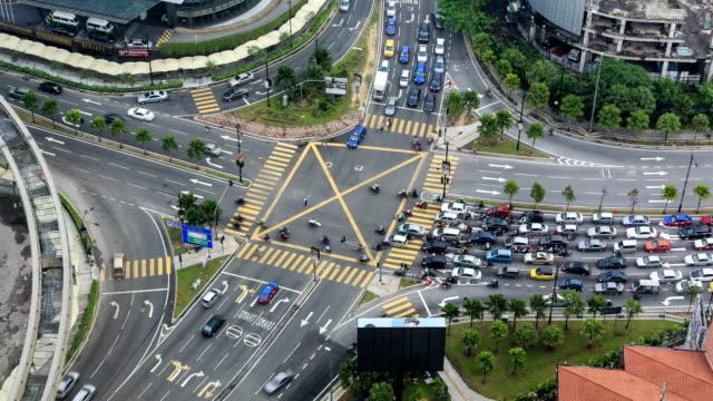 Kuala Lumpur Traffic Time Lapse