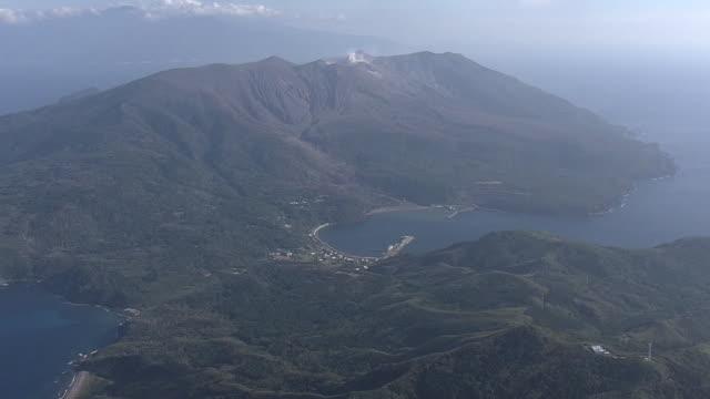 AERIAL, Kuchinoerabu-jima, Kagoshima, Japan