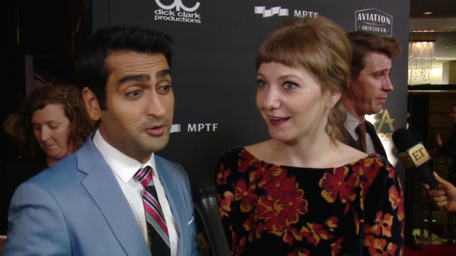 INTERVIEW Kumail Nanjiani and Emily Gordon on how special is tonight as Hollywood comes together in one of the first ceremonies of the season to...
