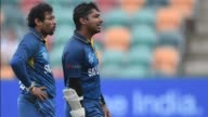 Kumar Sangakkara becomes the first batsman to score four consecutive oneday centuries as Sri Lanka pile up 363 for nine in the World Cup Pool A match...
