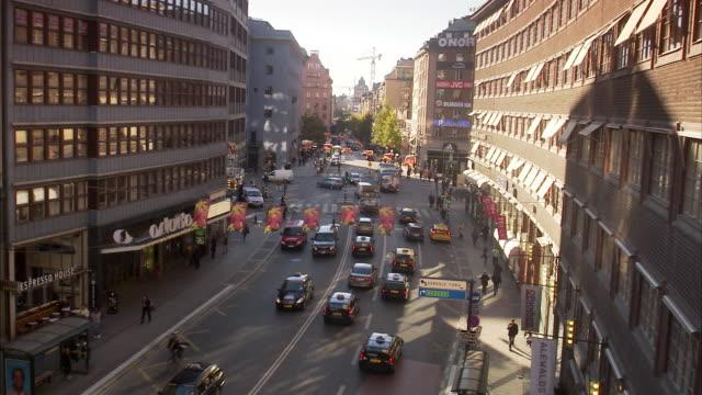 Kungsgatan Stockholm Sweden.