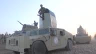 Kurdish Peshmerga Forces mowe towards Daeshheld town of Bashiqa located roughly 10 kilometers east of Camp Bashiqa northeast of Mosul as part of the...
