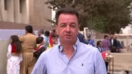 Kurds vote in historic referendum on independence Reporter to camera SOT
