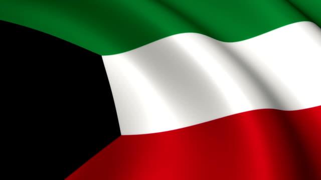 Kuwait Flag Loopable