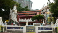 Hong Kong, China - October 11, 2015 : Kwum Yam Taoist shrine at the southeastern end of Repulse Bay.,hong kong-Tin Hau Temple Repulse Bay