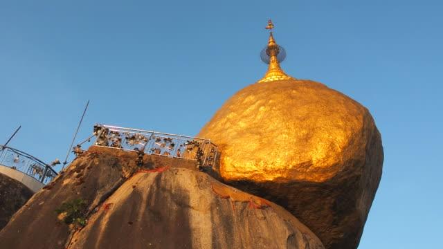 Kyaikhtiyo, Golden Rock, Kyaiktiyo pagoda at dusk