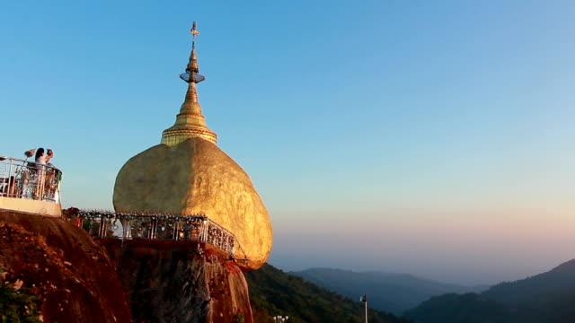 Kyaiktiyo Pagoda also called Golden rock
