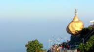 Kyaiktiyo Pagoda Golden rock Myanmar