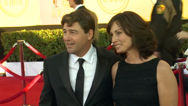 Kyle Chandler Kathryn Chandler at 18th Annual Screen Actors Guild Awards Arrivals on 1/29/12 in Los Angeles CA