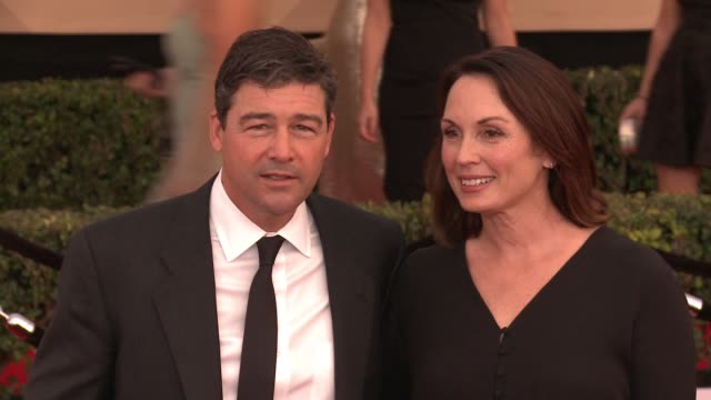 Kyle Chandler Kathryn Chandler at 23rd Annual Screen Actors Guild Awards Arrivals in Los Angeles CA