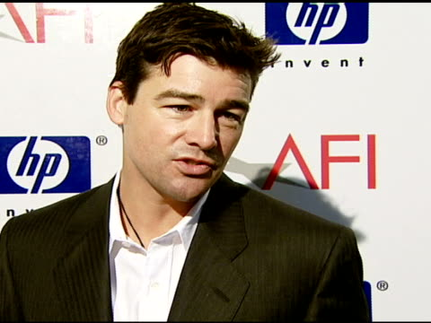 Kyle Chandler on how he feels about AFI honoring team efforts and his favorite film at the 2007 AFI Awards Honors Creative Teams at Four Seasons...