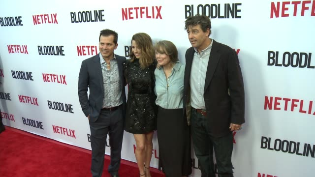 Kyle Chandler Sissy Spacek Linda Cardellini and John Leguizamo at the Netflix's 'Bloodline' Season 3 Red Carpet at ArcLight Cinemas on May 24 2017 in...