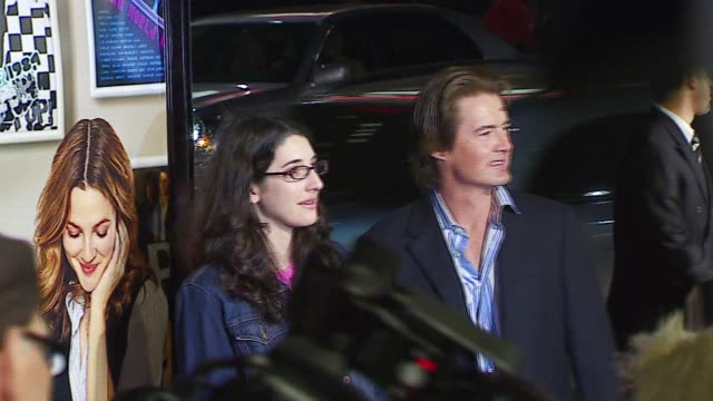 Kyle MacLachlan at the 'Music and Lyrics' Premiere at Grauman's Chinese Theatre in Hollywood California on February 7 2007