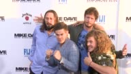 Kyle Newacheck Adam Devine Blake Anderson Anders Holm at Premiere Of 20th Century Fox's 'Mike And Dave Need Wedding Dates' in Los Angeles CA